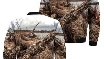 ed477b3cbd3f 3D All Over Printed Duck Jacket - FamilyLoves.Com