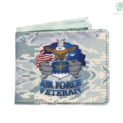 Air Force veteran Men's Wallet %tag familyloves.com