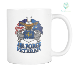 AIR FORCE VETERAN MUG %tag familyloves.com