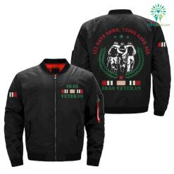 ALL GAVE SOME, 12805 GAVE ALL, IRAQ VETERAN OVER PRINT JACKET %tag familyloves.com