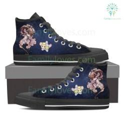 Aries High Shoes Blue %tag familyloves.com