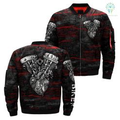 familyloves.com Biker over print jacket %tag