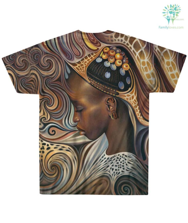 familyloves.com BLACK ART AMERICAN NATIVE OVER PRINT T-SHIRT %tag