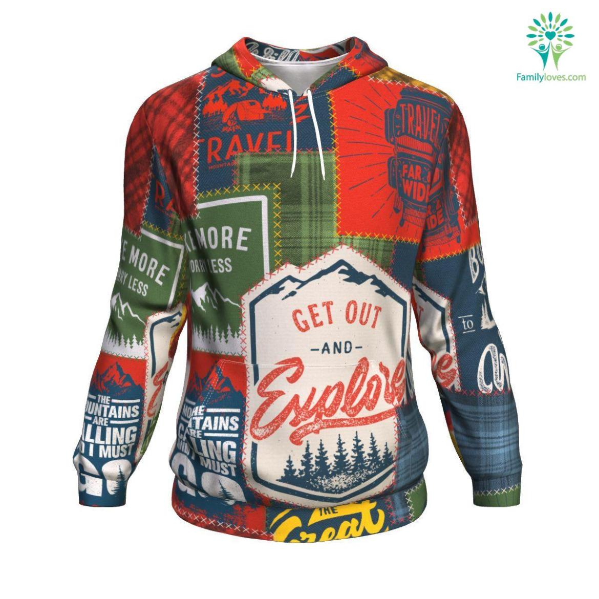 Camping Patchwork #1 ugly-christmas-hoodie %tag familyloves.com