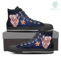 Cancer High Shoes Blue %tag familyloves.com