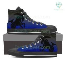 Capricorn High Shoes Blue %tag familyloves.com