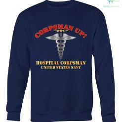 familyloves.com Corpsman up doc hospital corpsman united states navy hoodie, sweatshirt, t-shirt %tag