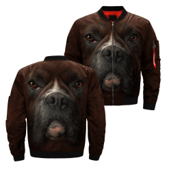 familyloves.com Dog over print jacket %tag