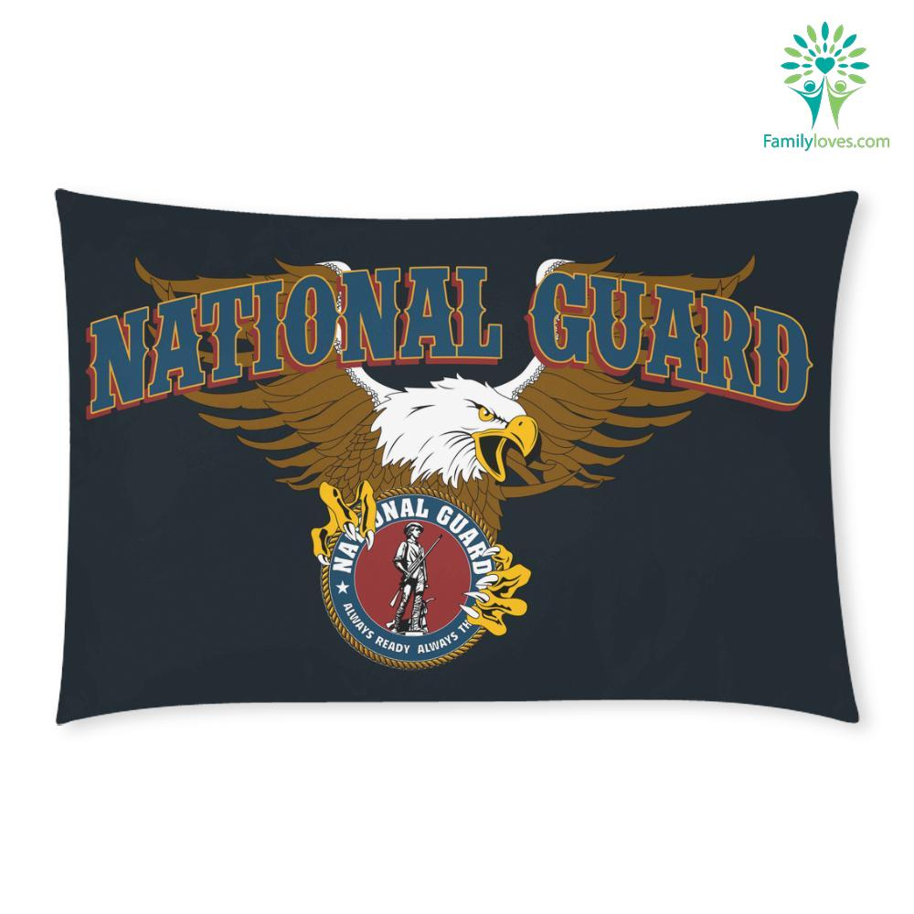 DUVET COVER AND PILLOWCASES FEEL SAFE AT NIGHT SLEEP WITH A NATIONAL GUARD %tag familyloves.com