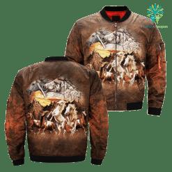 Find 15 Horses over print jacket %tag familyloves.com