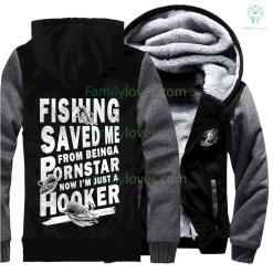 Fishing Saved Me Sweatshirts %tag familyloves.com