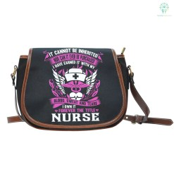 familyloves.com Forever the title Nurse Saddle Bag %tag
