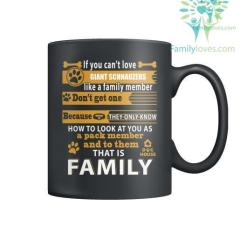 GIANT SCHNAUZERS DOG - MUGS %tag familyloves.com