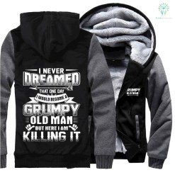 Grumpy old man jacket hoodie hot %tag familyloves.com
