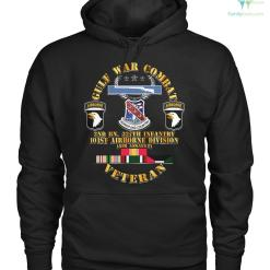 familyloves.com GULF WAR COMBAT 2nd BN, 327th infantry 101st airborne division Hoodie/Tshirt %tag