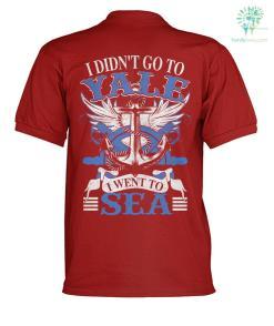 I didn't go to vale i went to sea? polo shirt %tag familyloves.com