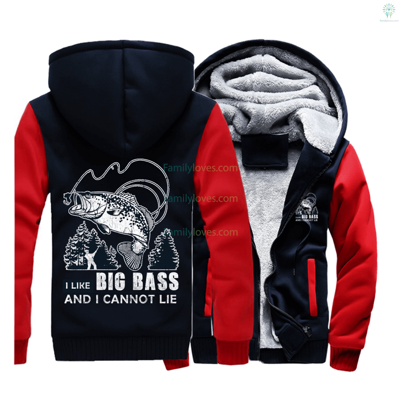 I like Big Bass Fishing Sweatshirts jacket hoodie %tag familyloves.com