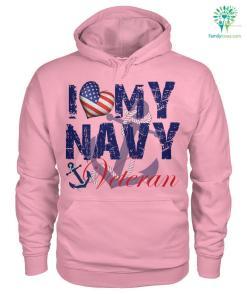 I love my navy veteran men, women t-shirt, hoodie %tag familyloves.com