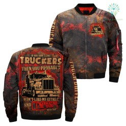 familyloves.com If you don't like truckers then you probably over print jacket %tag