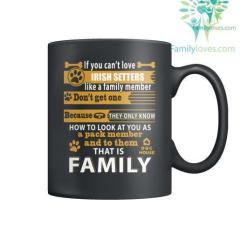 IRISH SETTERS DOG - MUGS %tag familyloves.com