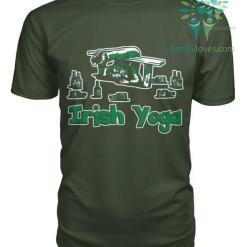 familyloves.com IRISH YOGA St. Patricks shirt, St. Patrick's Day shirt, St. Patricks day, St Pattys day shirt, Sizes S-5XL %tag
