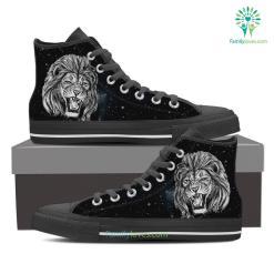 Leo High Shoes Grey %tag familyloves.com