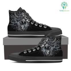 Leo High Shoes Dark Grey %tag familyloves.com