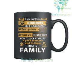 LEONBERGERS DOG - MUGS %tag familyloves.com