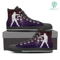 Libra High Shoes Purple %tag familyloves.com