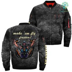 Make 'em fly faster! over print jacket %tag familyloves.com