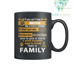 MALTESE DOG - MUGS %tag familyloves.com