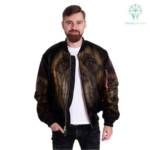 Mastiff Dog over print jacket %tag familyloves.com