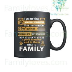 MINIATURE SCHNAUZERS DOG - MUGS %tag familyloves.com