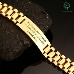 familyloves.com My fingers may be small, but I can still wrap daddy around them-men bracelets %tag