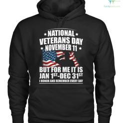 National veterans day november 11 but for me it is jan 1st dec 31st... men, women t-shirt, hoodie %tag familyloves.com