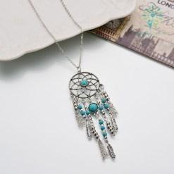 Native American Fringe Necklace %tag familyloves.com