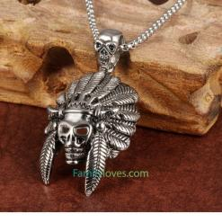 Native American Jewelry Necklace %tag familyloves.com