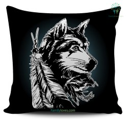 familyloves.com NATIVE AMERICAN WOLF PILLOWS %tag