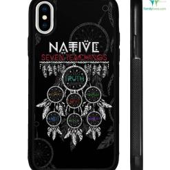 Native Seven Teachings Samsung, iPhone case %tag familyloves.com