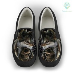 familyloves.com Native shoe wolf %tag