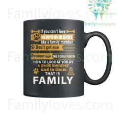 NEWFOUNDLANDS DOG - MUGS %tag familyloves.com