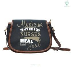 Nurse Heal The Soul Saddle Bag %tag familyloves.com