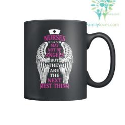 familyloves.com Nurses May Not Be Angels Mugs %tag