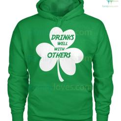 PATRIOTIC HOODIES, CREW NECK SWEATSHIRT,PREMIUM UNISEX TEE drinks well with others %tag familyloves.com