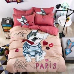 familyloves.com Pitbull bedding set 100% cotton %tag