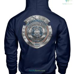 POLICE HONOR SERVICE SACRIFICE THE BROTHERHOOD HOODIE %tag familyloves.com
