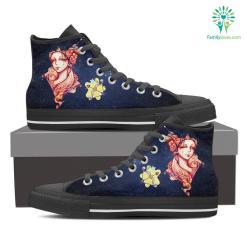 Sagittarius High Shoes Blue %tag familyloves.com