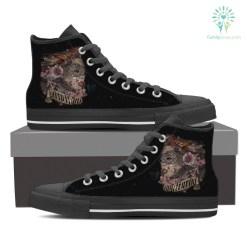 Sagittarius High Shoes Black %tag familyloves.com
