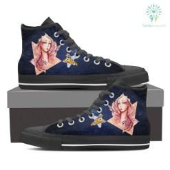 Scorpio High Shoes Blue %tag familyloves.com