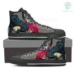 Scorpio High Shoes Grey %tag familyloves.com